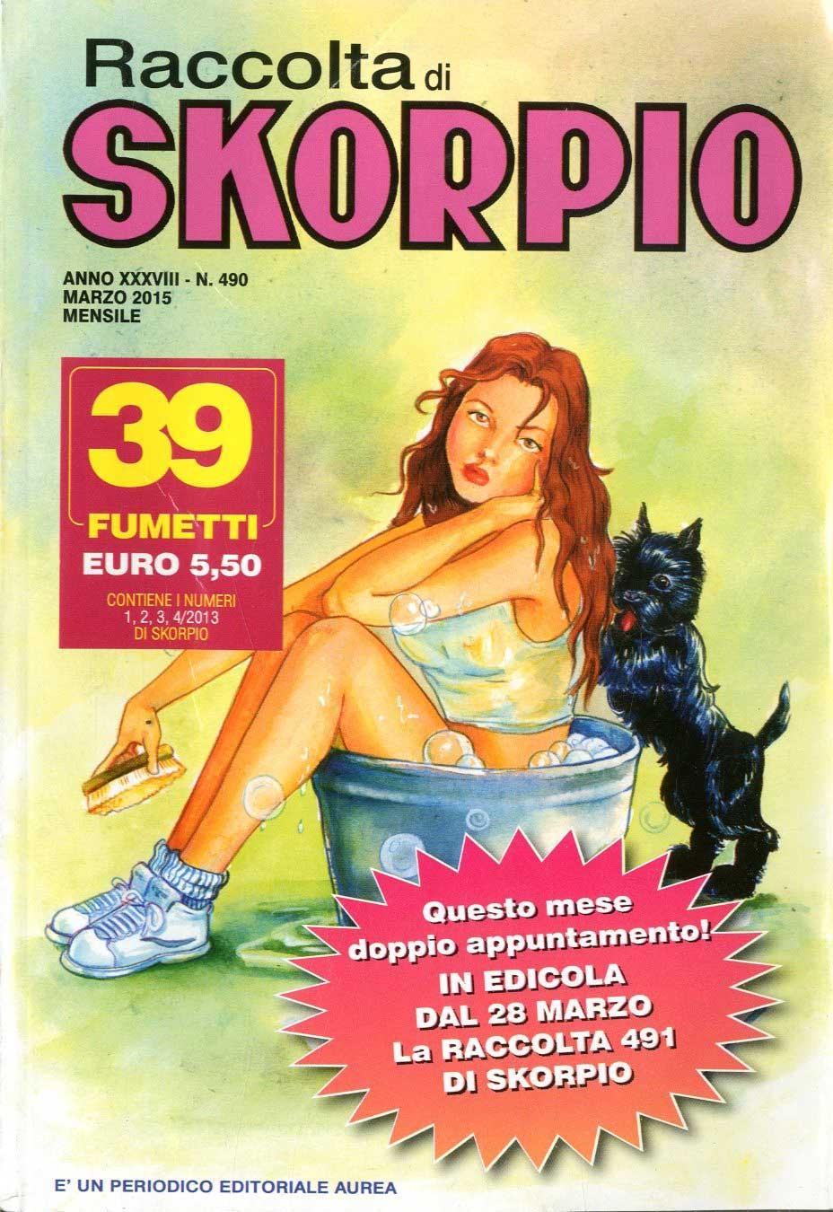 Skorpio Raccolta - N° 490 - Skorpio Raccolta - Editoriale Aurea