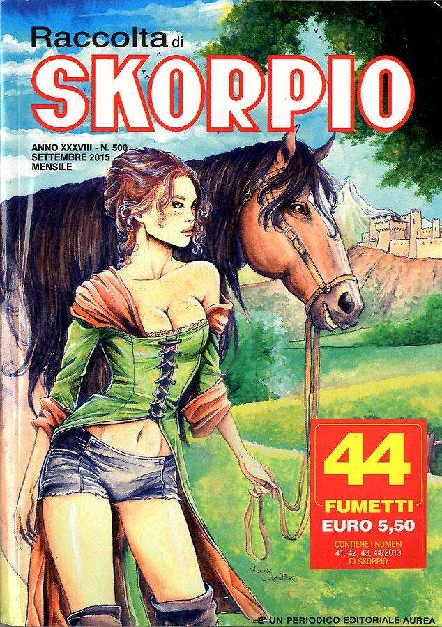 Skorpio Raccolta - N° 500 - Skorpio Raccolta - Editoriale Aurea
