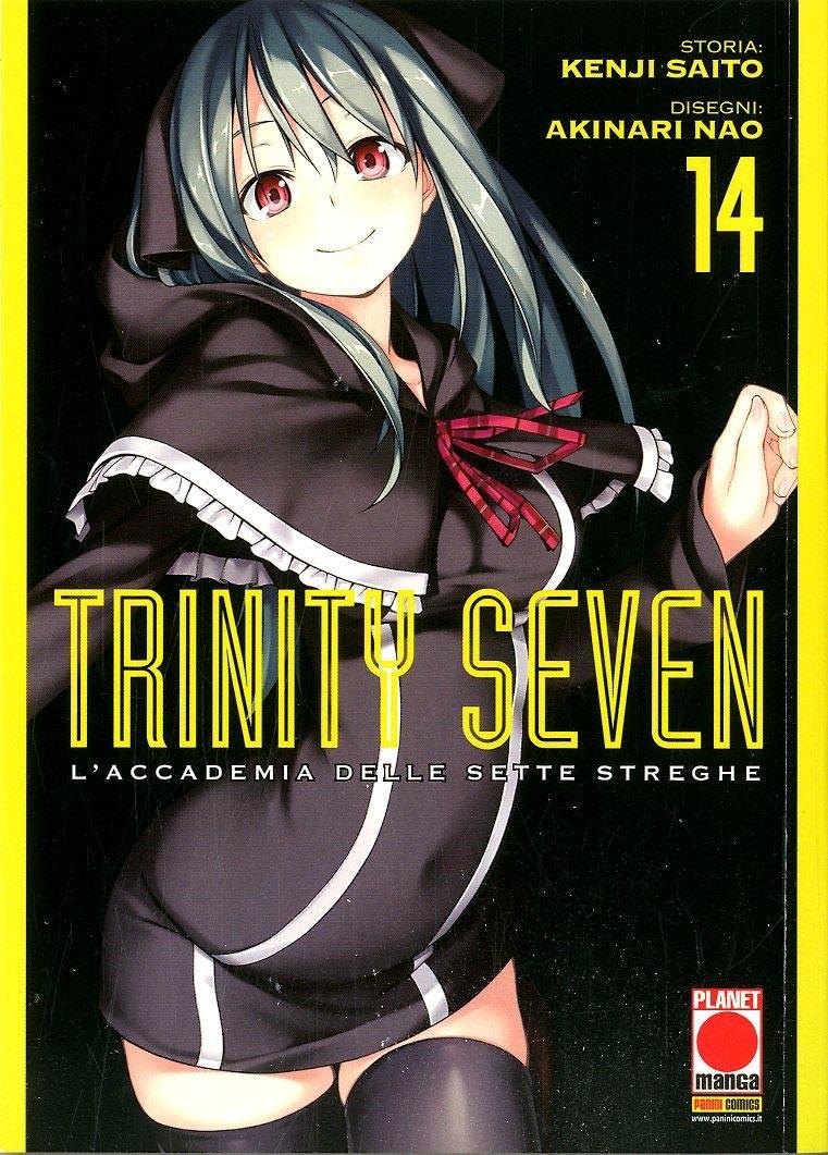 Trinity Seven - N° 14 - Accademia Delle Sette Streghe - Manga Adventure Planet Manga