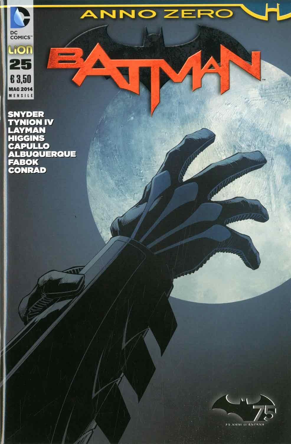 Batman 2012 - N° 25 - Batman - Batman Rw Lion