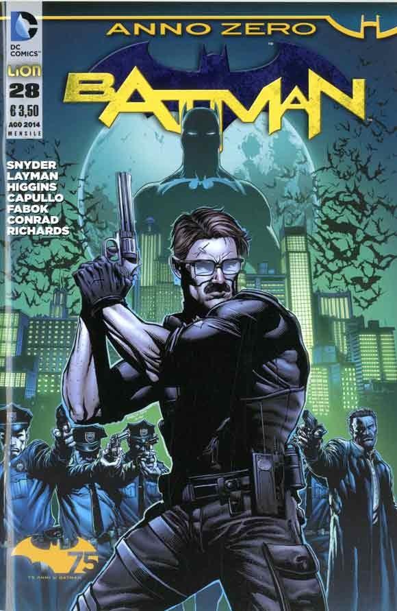 Batman 2012 - N° 28 - Batman - Batman Rw Lion