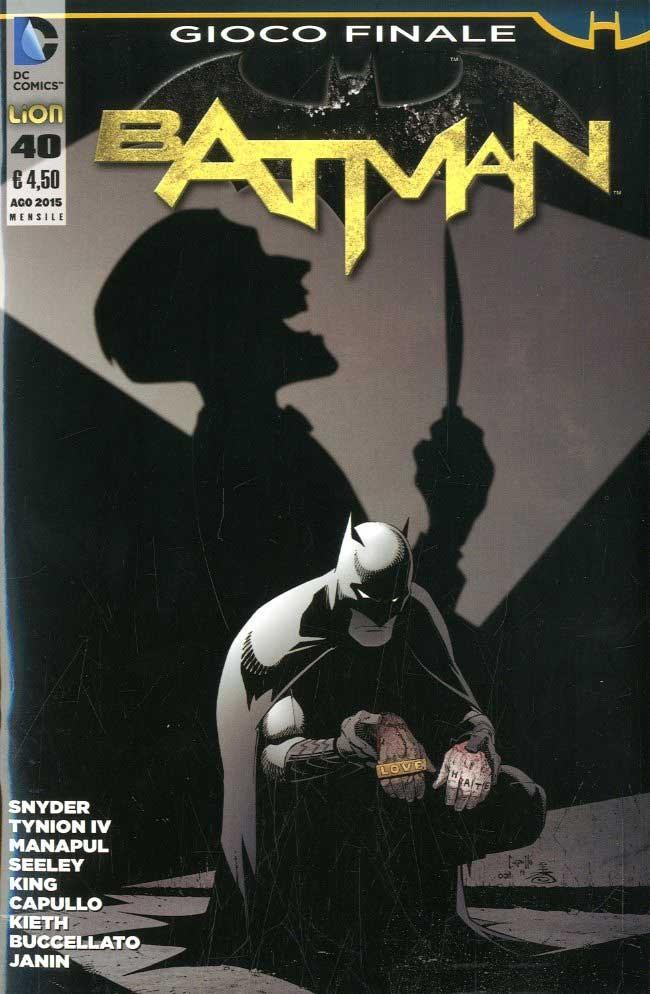 Batman 2012 - N° 40 - Batman - Batman Rw Lion