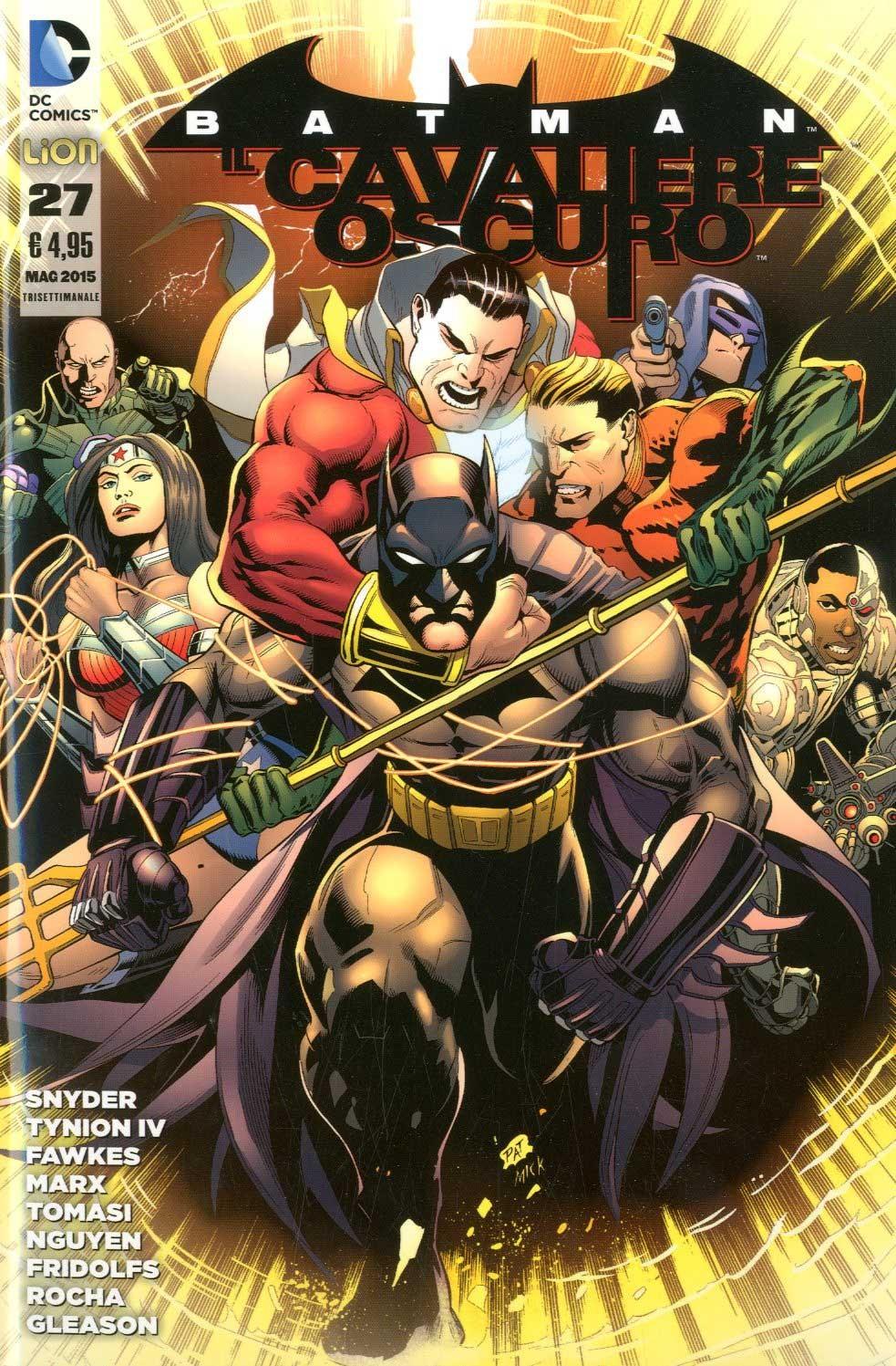 Batman Il Cav.Oscuro N. Serie - N° 27 - Batman Il Cavaliere Oscuro - Rw Lion