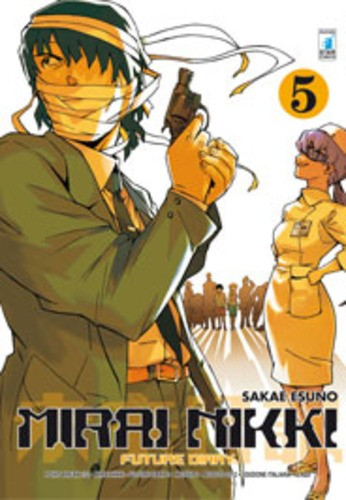 Mirai Nikki - N° 5 - Future Diary 5 (M12) - Point Break Star Comics
