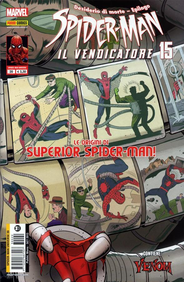 Spider-Man Il Vendicatore N° 18 Panini ITA NUOVO Spider-Man Universe 23