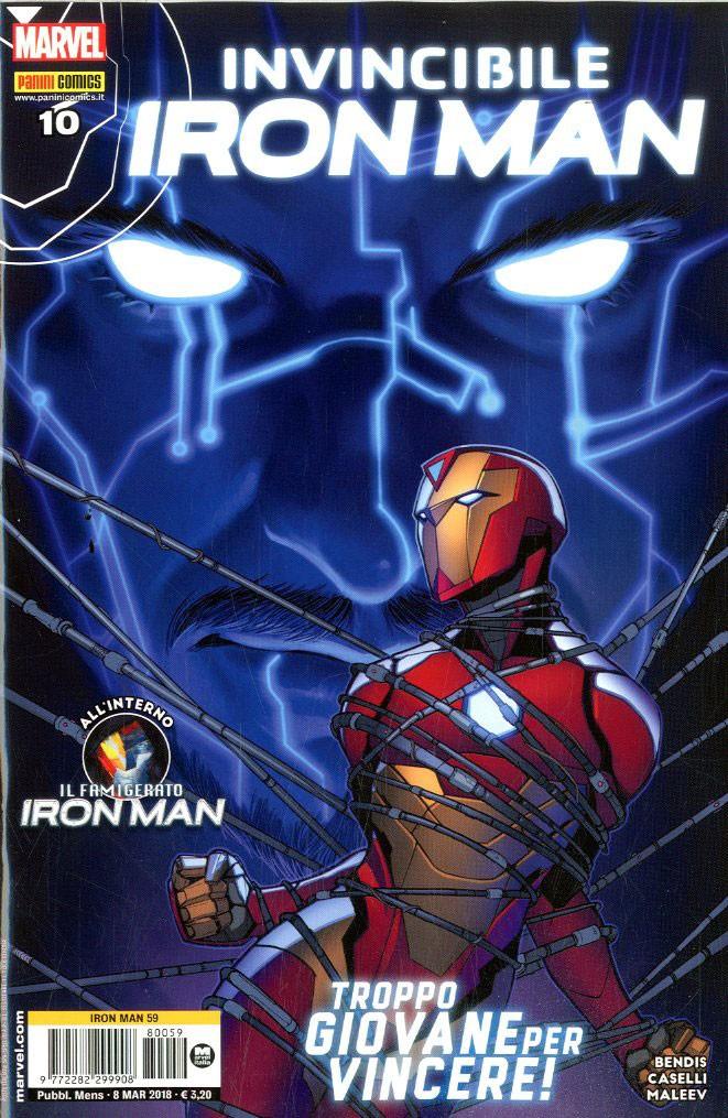 Iron Man - N° 59 - Invincibile Iron Man - Invincibile Iron Man Marvel Italia