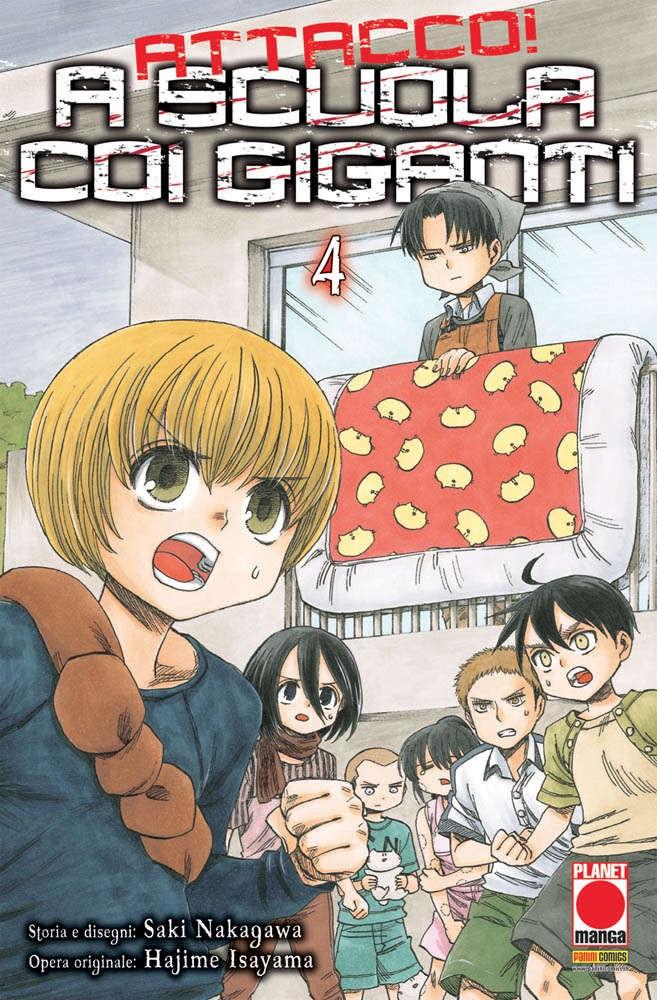 A Scuola Con I Giganti - N° 4 - Attacco! A Scuola Con I Giganti - Manga Hero Planet Manga