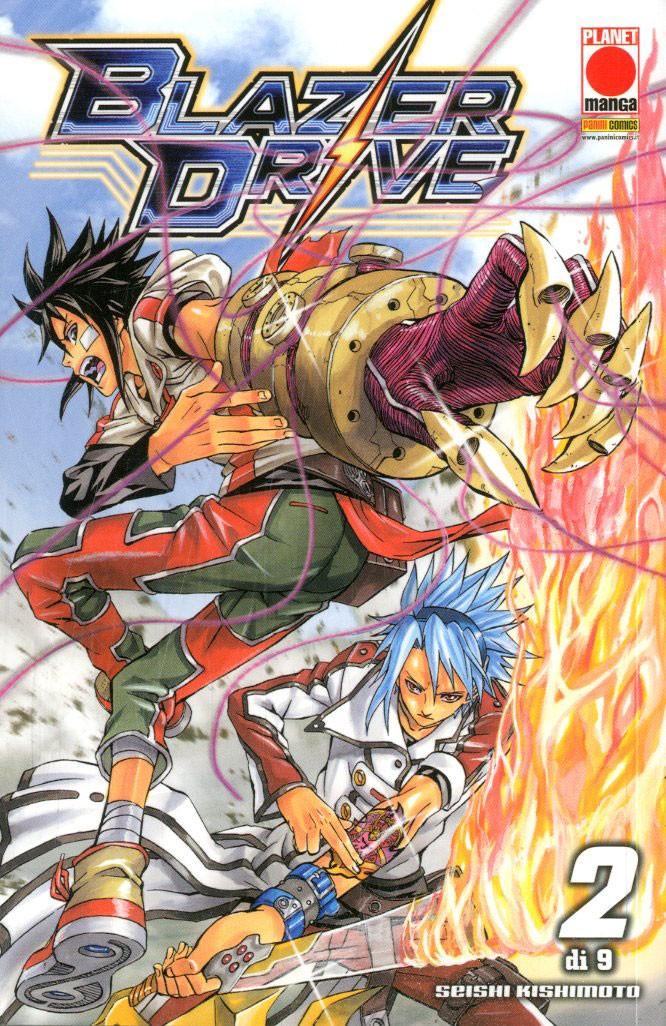 Blazer Drive - N° 2 - Blazer Drive - Manga Hero Planet Manga