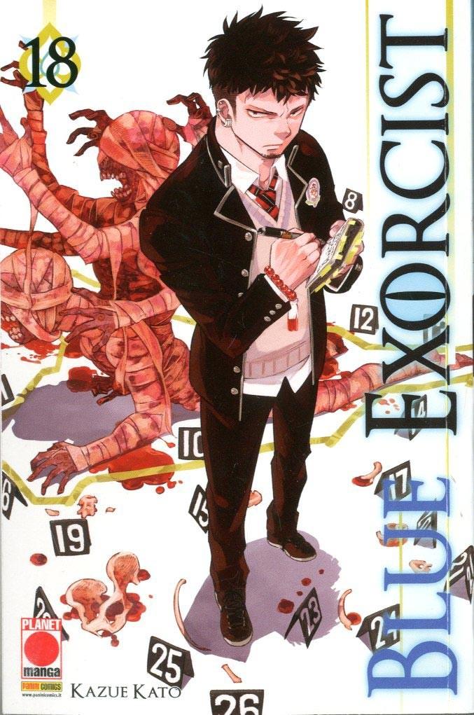 Blue Exorcist - N° 18 - Blue Exorcist - Manga Graphic Novel Planet Manga