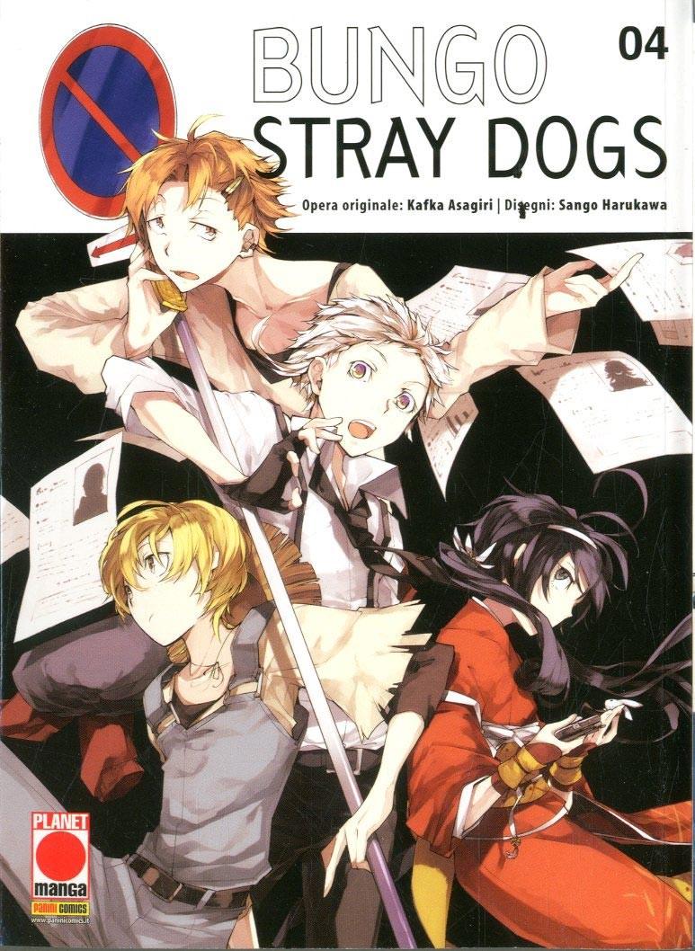 Bungo Stray Dogs - N° 4 - Bungo Stray Dogs - Manga Run Planet Manga