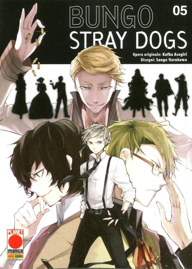 Bungo Stray Dogs - N° 5 - Bungo Stray Dogs - Manga Run Planet Manga
