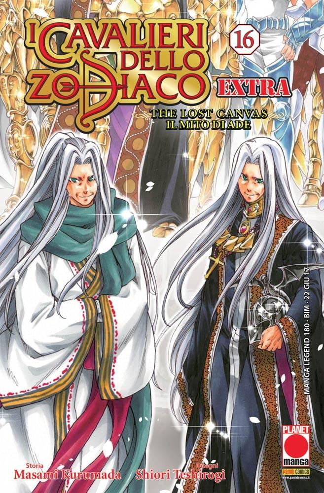 Cavalieri Zodiaco Extra - N° 16 - The Lost Canvas: Il Mito Di Ade - Manga Legend Planet Manga