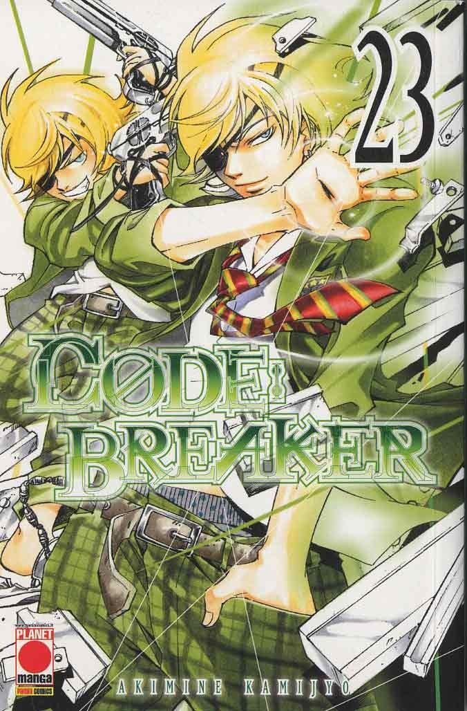Code Breaker - N° 23 - Code Breaker - Manga Superstars Planet Manga