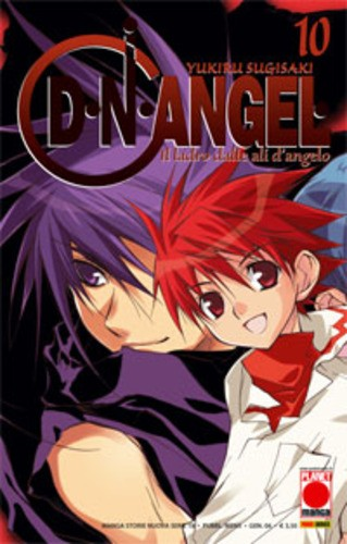D.Angel - N° 10 - D.Angel - Manga Storie Nuova Serie Planet Manga