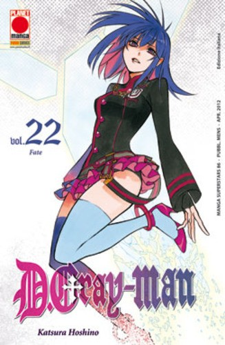 D.Gray-Man - N° 22 - D.Gray-Man - Manga Superstars Planet Manga