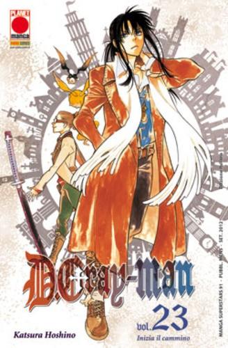 D.Gray-Man - N° 23 - D.Gray-Man - Manga Superstars Planet Manga