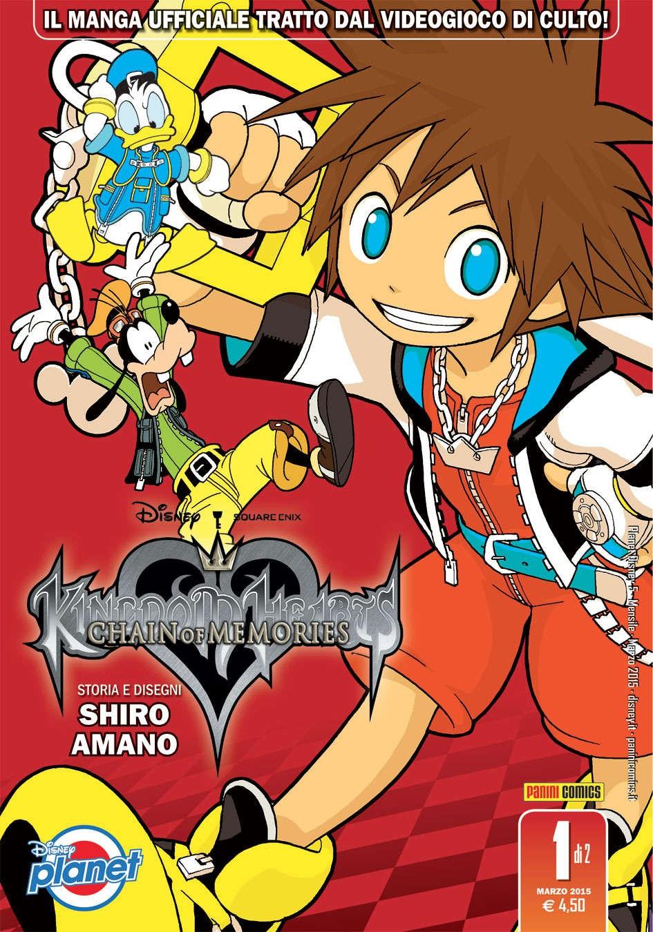 Kingdom Hearts Chain Of... - N° 1 - Kingdom Hearts Chain Of Memories - Planet Manga