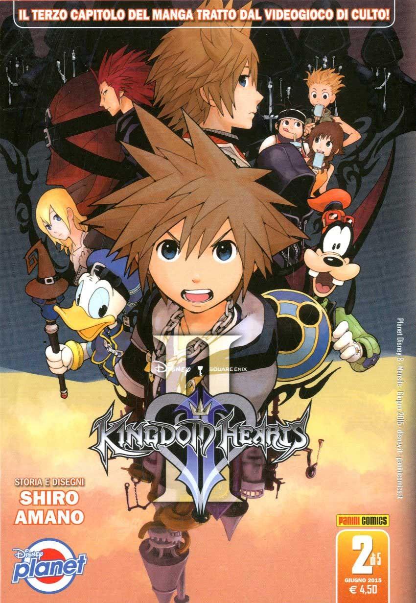 Kingdom Hearts Ii - N° 2 - Kingdom Hearts Ii - Planet Manga