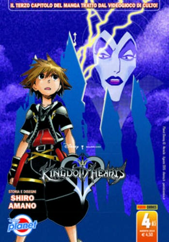 Kingdom Hearts Ii - N° 4 - Kingdom Hearts Ii - Planet Disney Planet Manga