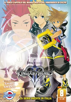 Kingdom Hearts Ii - N° 8 - Kingdom Hearts Ii - Planet Disney Planet Manga
