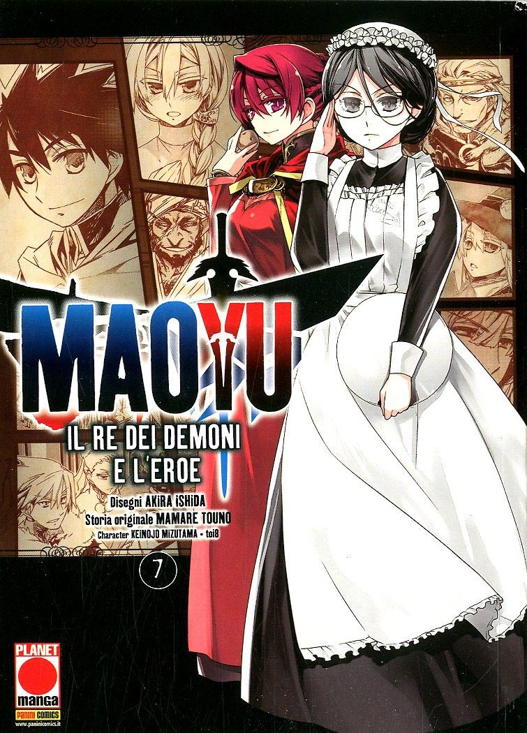 Maoyu (M18) - N° 7 - Il Re Dei Demoni E L'Eroe - Manga Icon Planet Manga