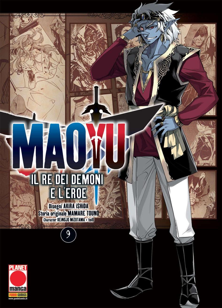 Maoyu (M18) - N° 9 - Il Re Dei Demoni E L'Eroe - Manga Icon Planet Manga