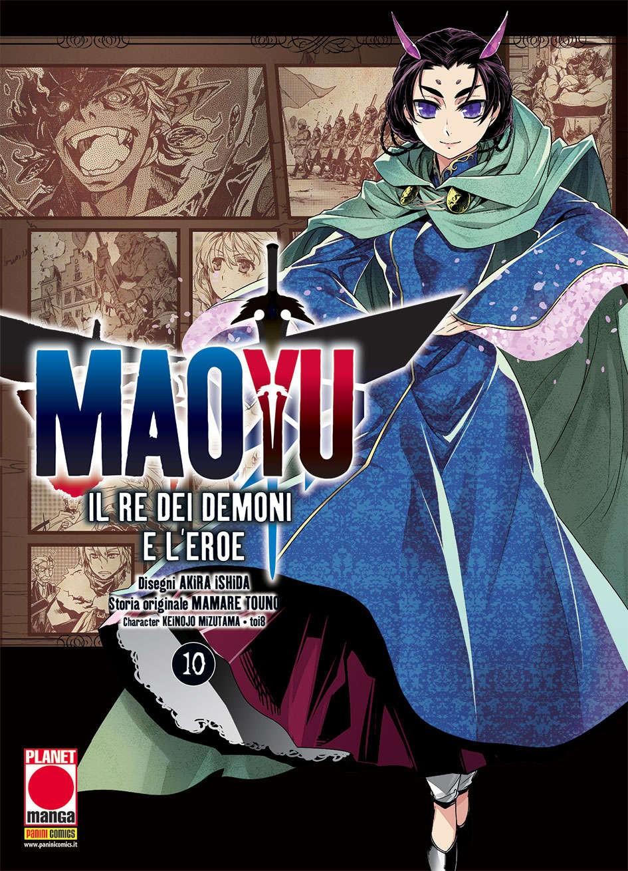 Maoyu (M18) - N° 10 - Il Re Dei Demoni E L'Eroe - Manga Icon Planet Manga