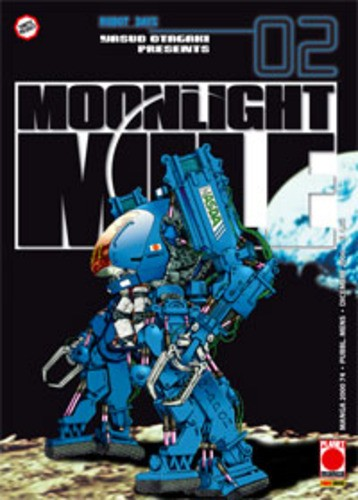 Moonlight Mile - N° 2 - Moonlight Mile 2 - Manga 2000 Planet Manga