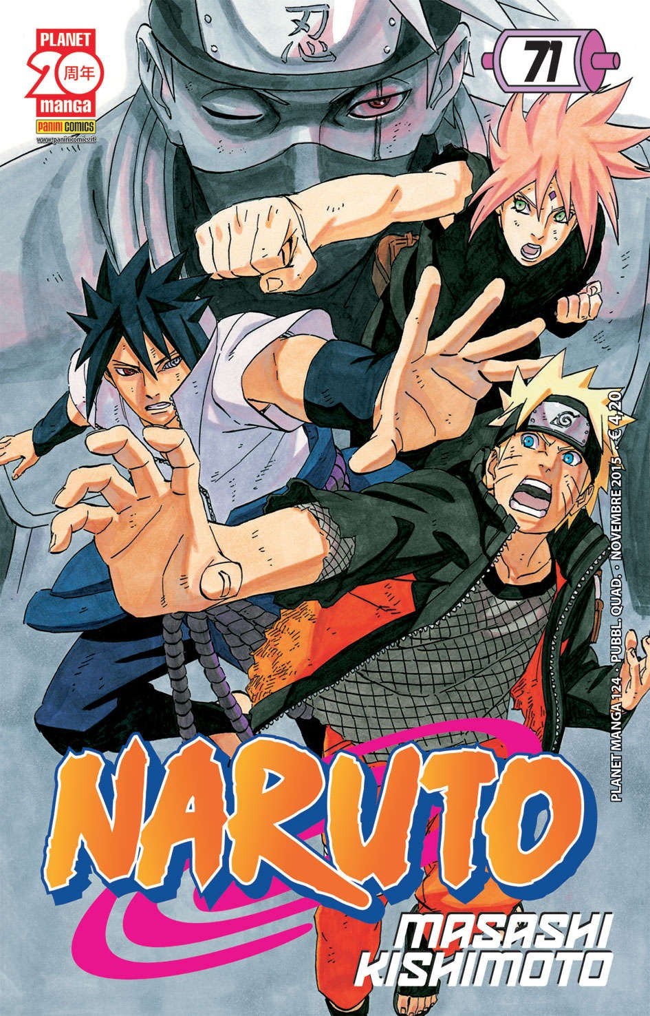 Naruto - N° 71 - Naruto - Planet Manga Planet Manga