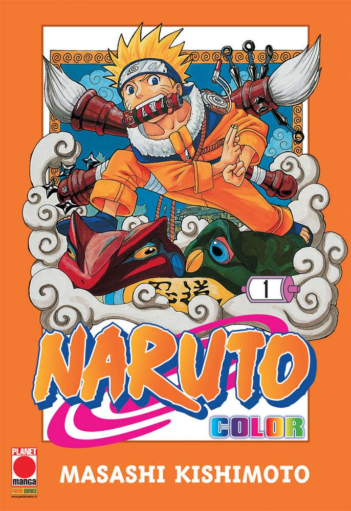 Naruto Color - N° 1 - Naruto Color - Planet Manga
