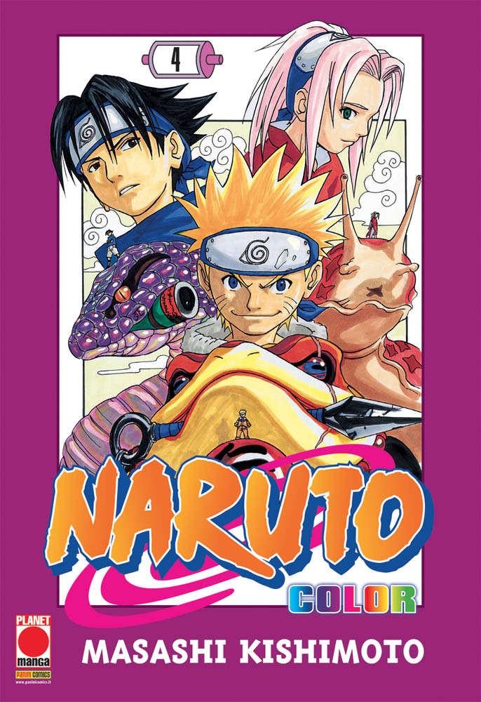 Naruto Color - N° 4 - Naruto Color - Planet Manga