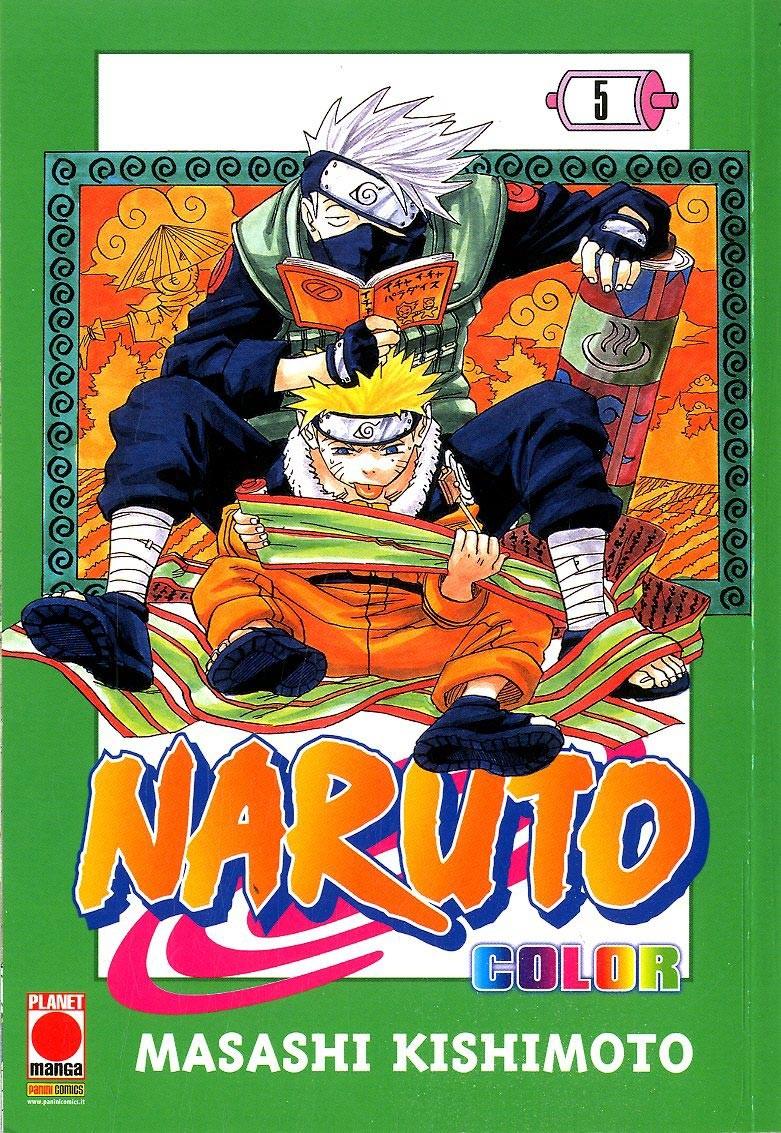 Naruto Color - N° 5 - Naruto Color - Planet Manga