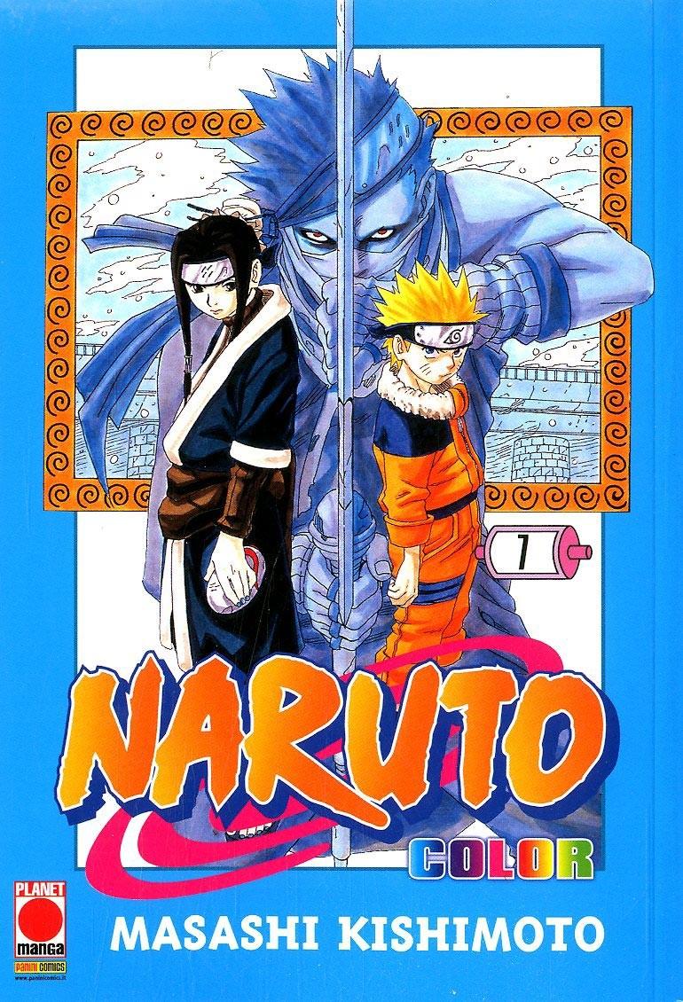 Naruto Color - N° 7 - Naruto Color - Planet Manga