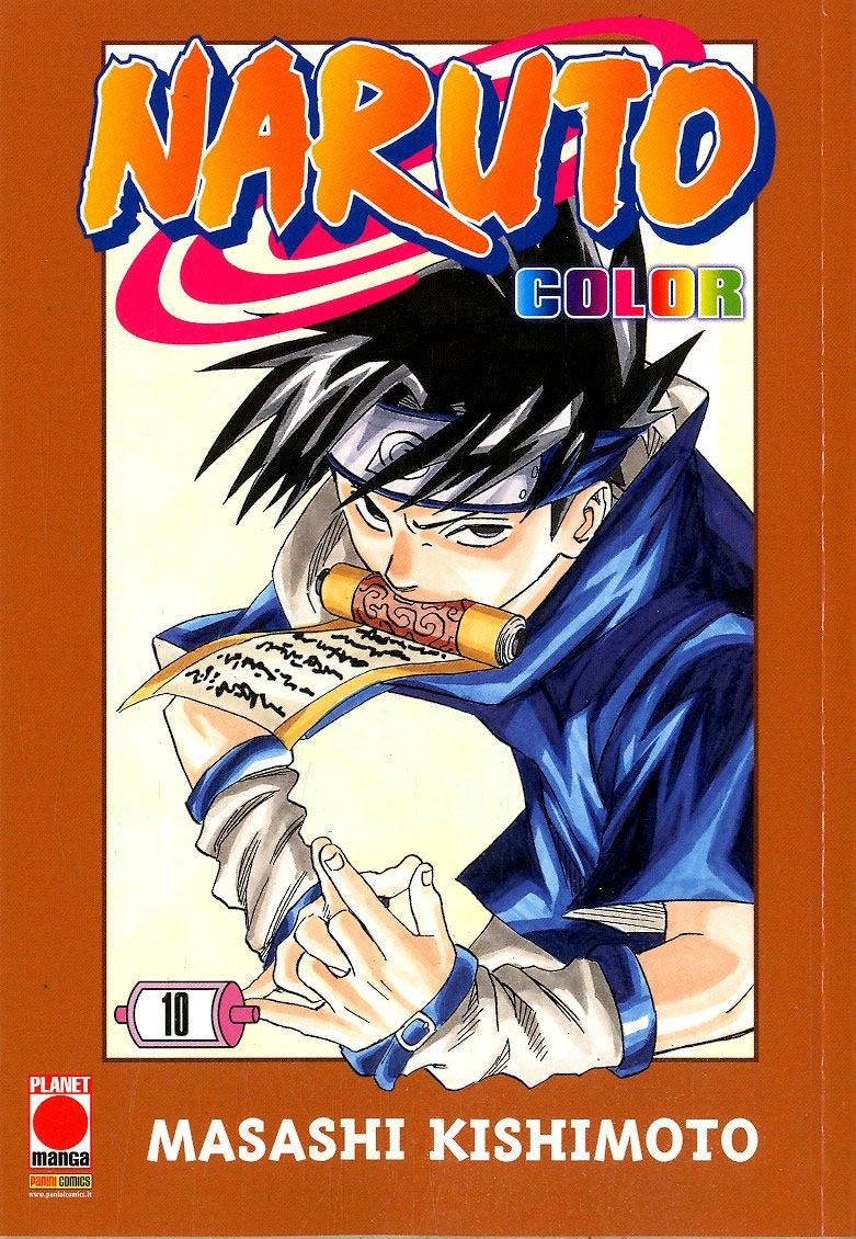 Naruto Color - N° 10 - Naruto Color - Planet Manga