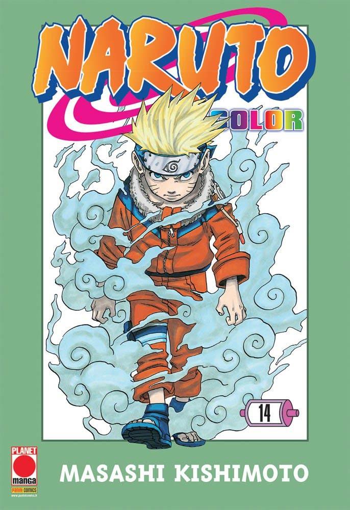 Naruto Color - N° 14 - Naruto Color - Planet Manga