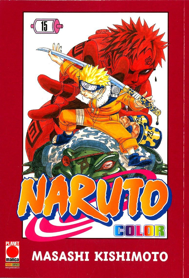 Naruto Color - N° 15 - Naruto Color - Planet Manga