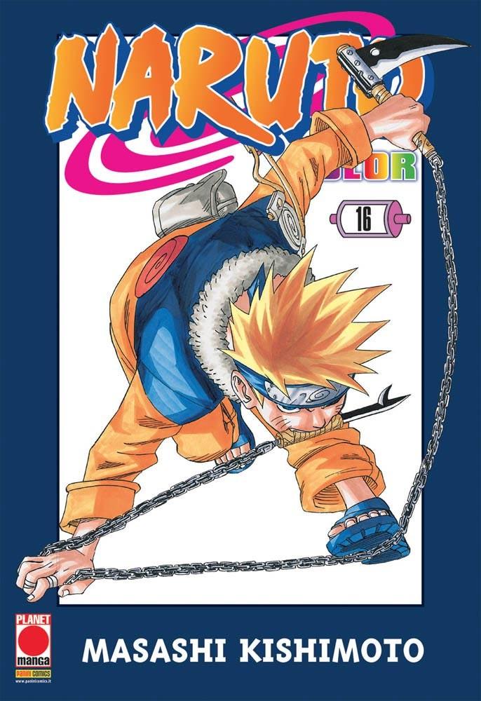 Naruto Color - N° 16 - Naruto Color - Planet Manga