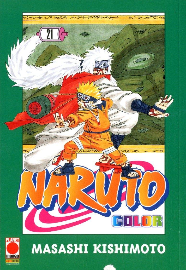 Naruto Color - N° 21 - Naruto Color - Planet Manga