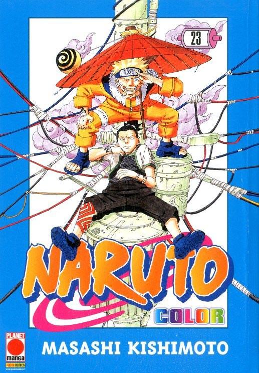 Naruto Color - N° 23 - Naruto Color - Planet Manga