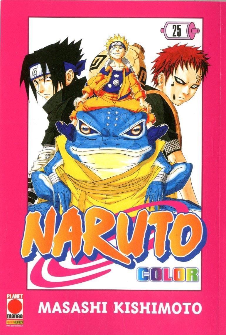 Naruto Color - N° 25 - Naruto Color - Planet Manga
