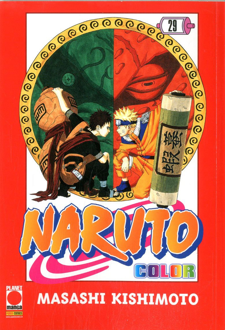 Naruto Color - N° 29 - Naruto Color - Planet Manga