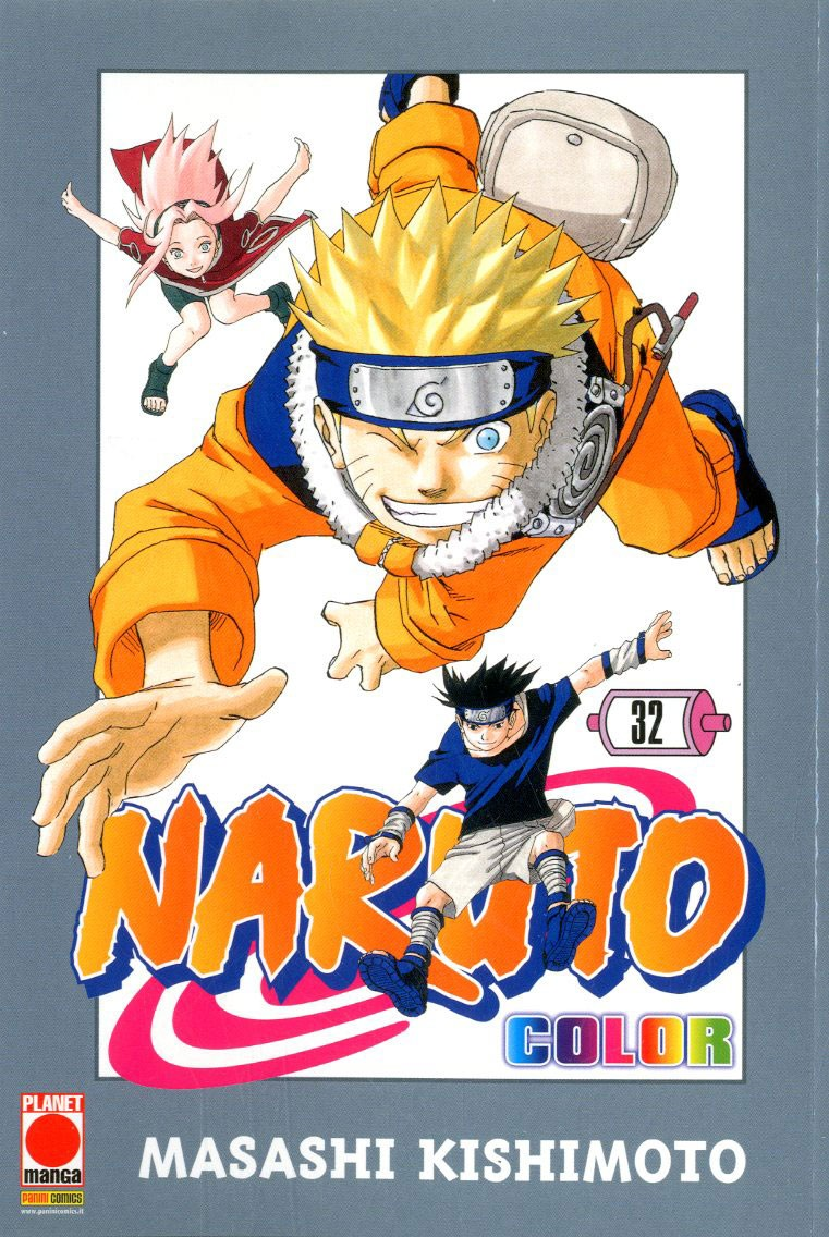 Naruto Color - N° 32 - Naruto Color - Planet Manga