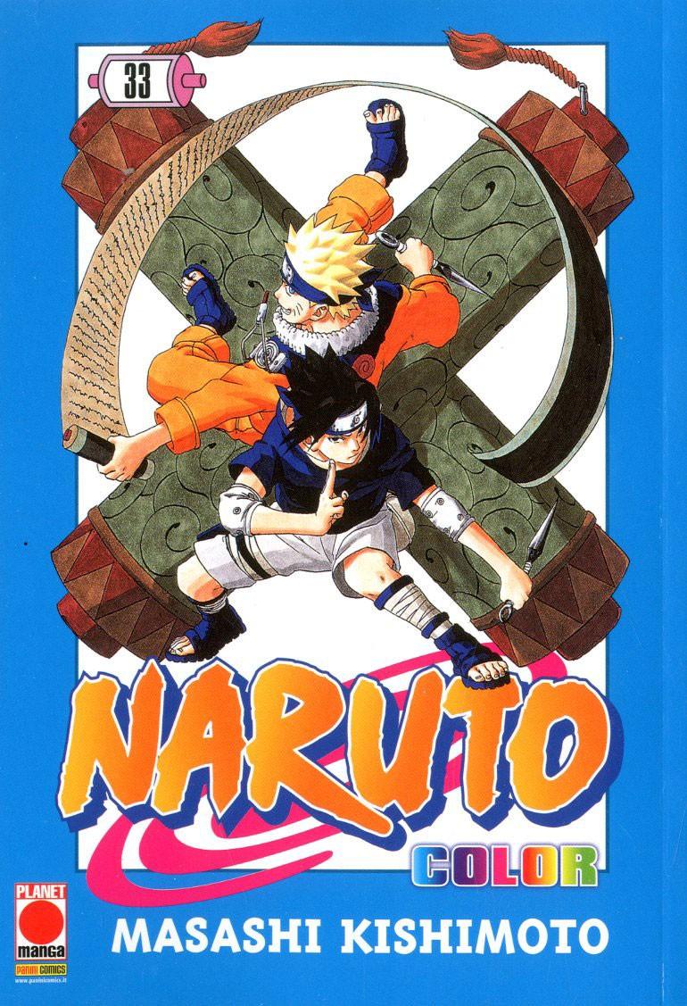Naruto Color - N° 33 - Naruto Color - Planet Manga