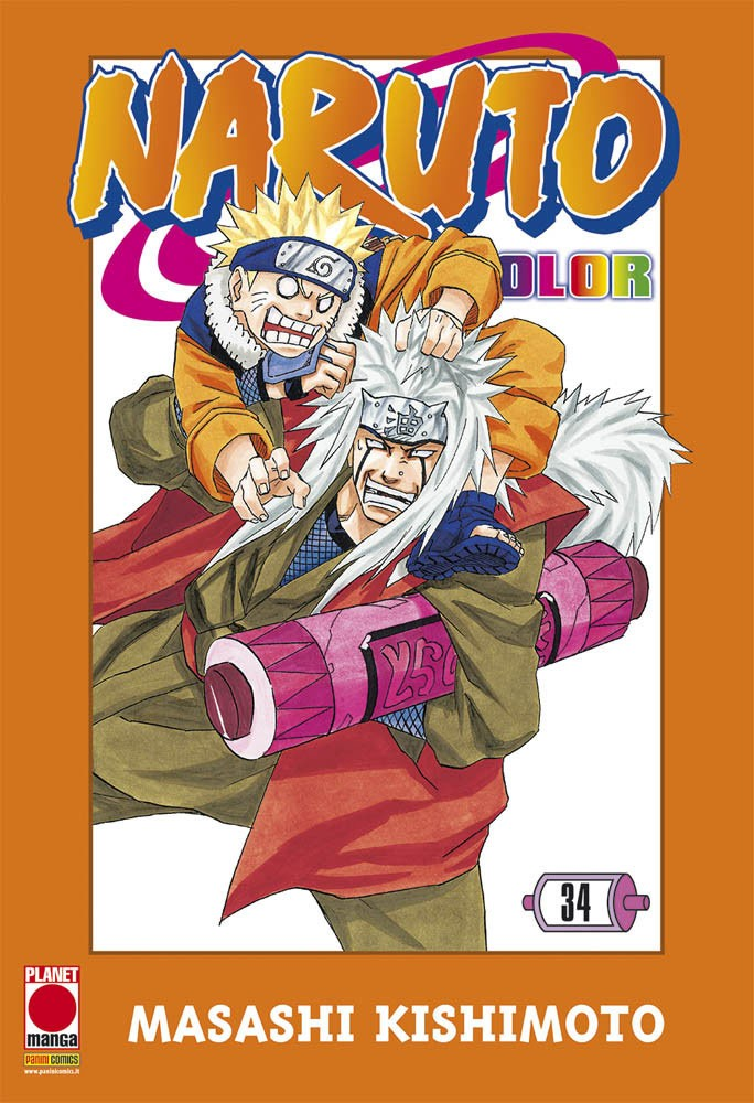 Naruto Color - N° 34 - Naruto Color - Planet Manga