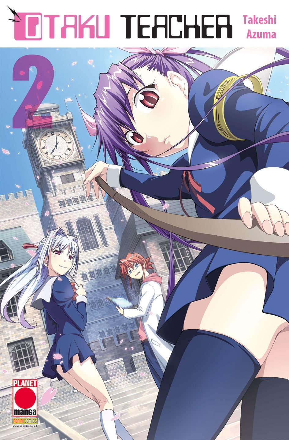 Otaku Teacher - N° 2 - Otaku Teacher - Sakura Planet Manga