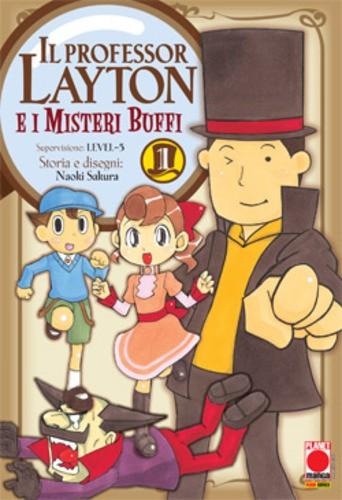 Professor Layton - N° 1 - Professor Layton E I Misteri Buffi - Manga Universe Planet Manga