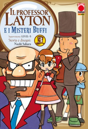Professor Layton - N° 3 - Professor Layton E I Misteri Buffi - Manga Universe Planet Manga
