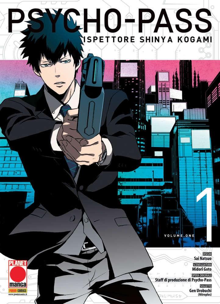Psycho-Pass - N° 1 - Ispettore Shinya Kogami - Manga Life Planet Manga