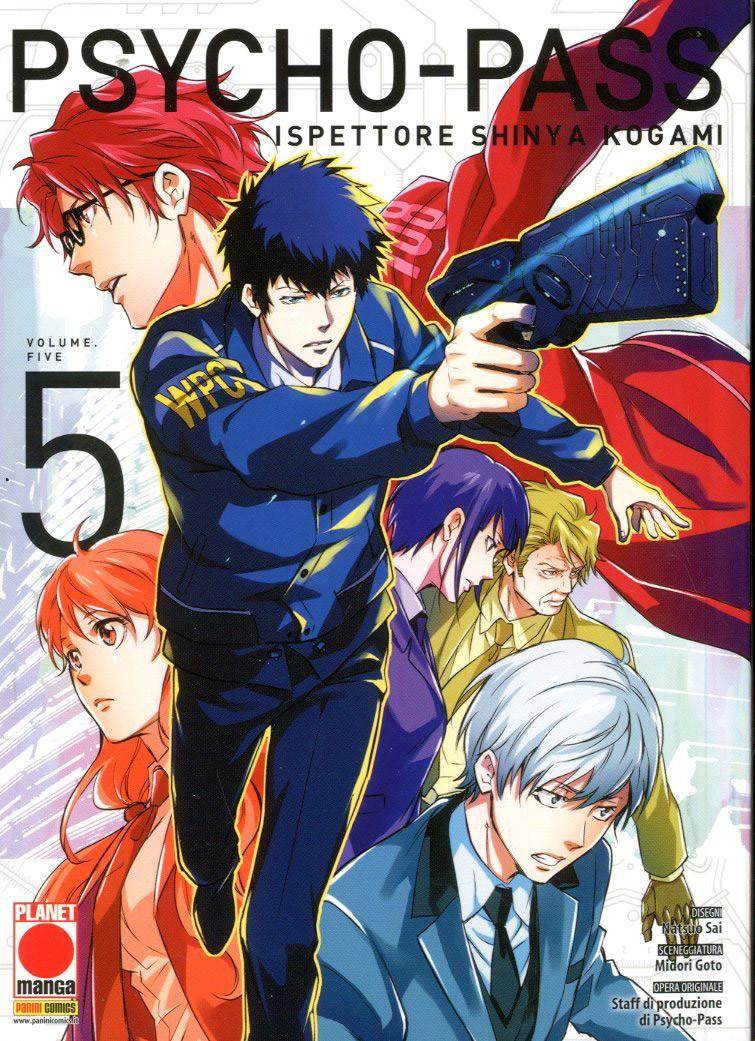 Psycho-Pass Ispettore Shinya.. - N° 5 - Manga Life 26 - Planet Manga
