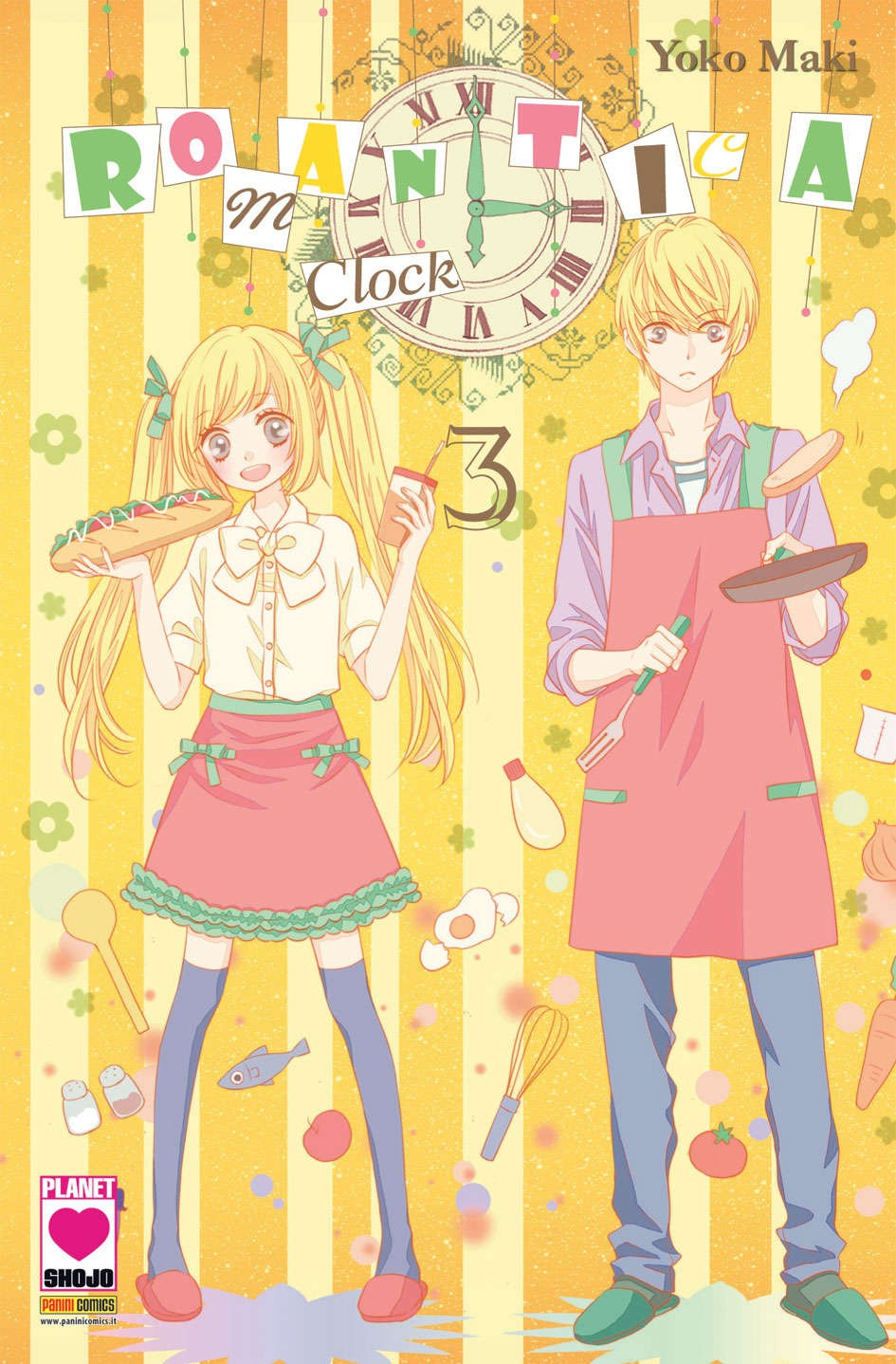 Romantica Clock - N° 3 - Romantica Clock - Yume Planet Manga